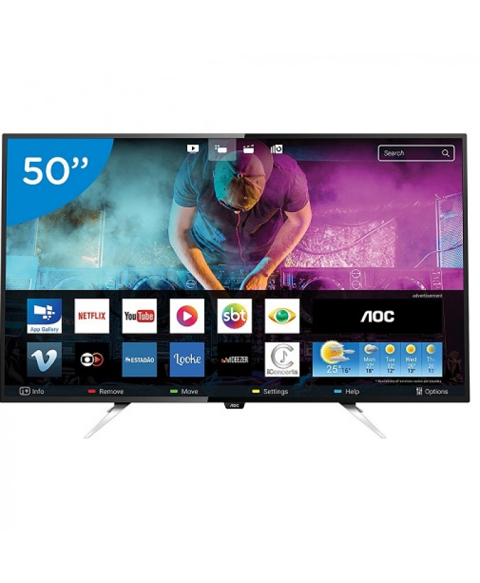 "TV LED AOC 50"" ULTRA HD 4K SMART - LE50U7970"